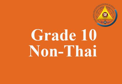 Grade 10 Non-Thai Level 5