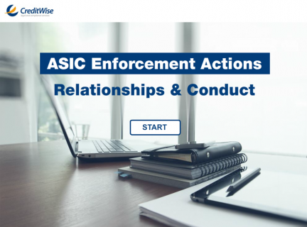 ASIC Enforcement Actions: Relationships & Conduct (G)