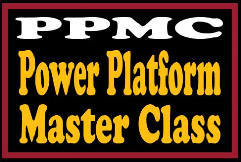 Power Platform Master Class (PPMC)