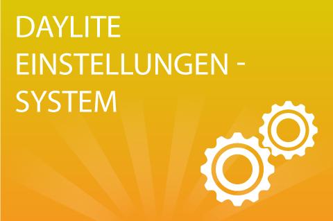Daylite Einstellungen System (DE040)