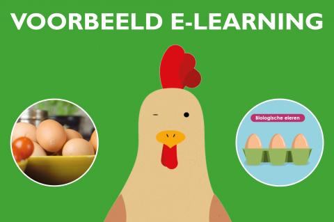 Gratis voorbeeld e-learning 'Hoe bak ik een ei?' (e-learning)