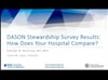 DASON Stewardship Survey- How Does Your Hospital Compare