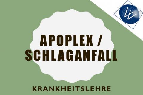 Apoplex Schlaganfall (ELN-0009)