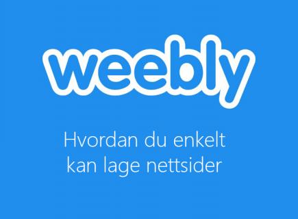 Weebly admin kurs