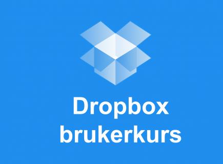Dropbox brukerkurs