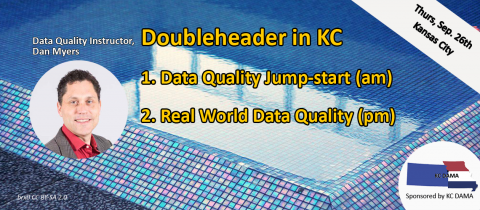 DQ Jumpstart- Using the Conformed Dimensions of Data Quality (KC DAMA, 2019-09-26) (2001)