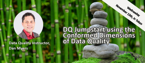 DQ Jumpstart- Using the Conformed Dimensions of Data Quality (Tokyo, 2019-11-13) (2001)