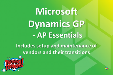 Dynamics GP - AP Essentials