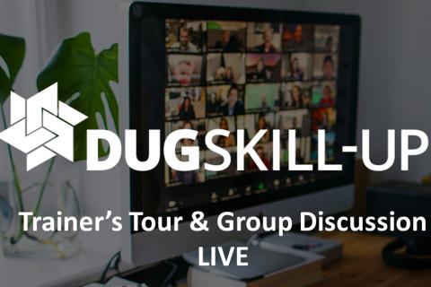Trainer's Tour & Group Discussion - LIVE April