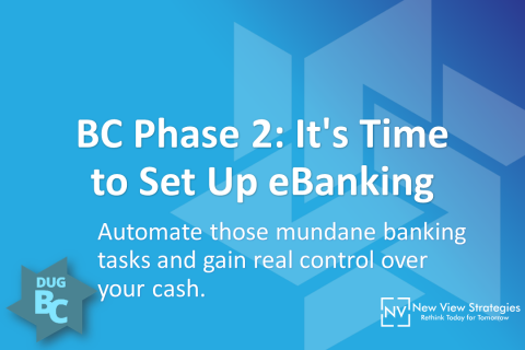 BC Phase 2: It's Time to Set Up eBanking
