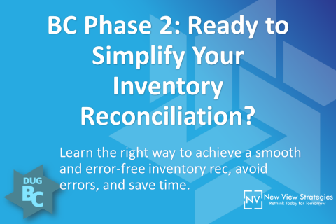 BC Phase 2: Ready to Simplify Your Inventory Reconciliation?