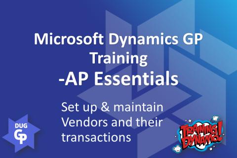Dynamics GP - AP Essentials