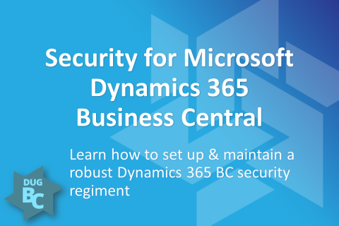 Security for Microsoft Dynamics 365 Business Central