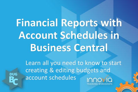 Financial Reports with Account Schedules in Business Central