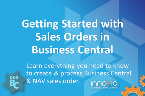 Getting Started with Sales Orders in Business Central