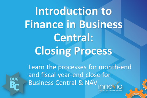 Introduction to Finance in Business Central: Closing Process