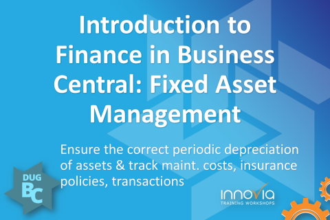 Introduction to Finance in Business Central (NAV): Fixed Asset Management
