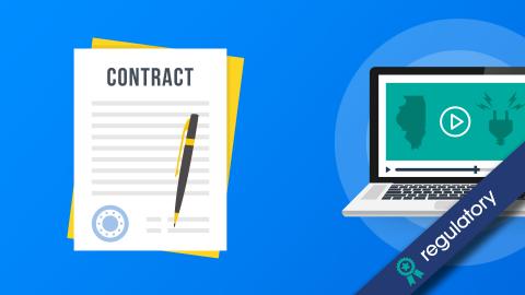 IL Contract Terms & Conditions & Uniform Disclosure Statement (EE-102E)