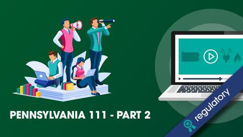 PA E&G Section 111 - Part 2 (102 PA E&G EE)