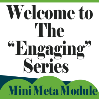 "Welcome to the ""Engaging"" Series"