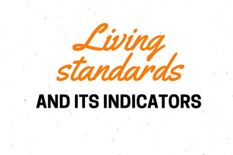 Living standards & its indicators