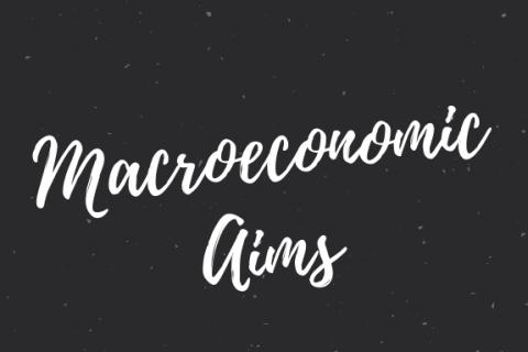 (I) Macroeconomic Aims