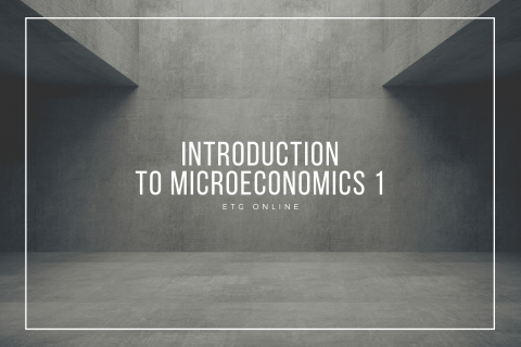 A1 - Introduction to Macroeconomics 1 (A1)