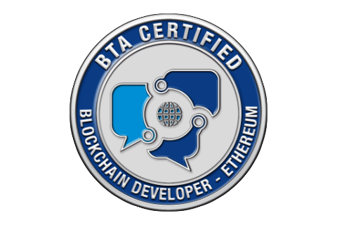 Certified Blockchain Developer - Ethereum (CBDE) with Exam Voucher (CBDEBTAH120)