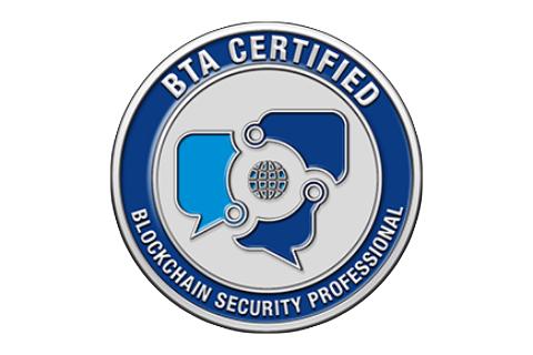 Certified Blockchain Security Professional (CBSP) with Exam Voucher (CBSPBTAH120)
