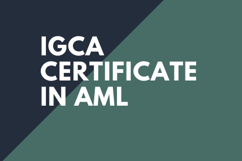 Certificate in Anti-Money Laundering (AML) (CAMLI2020)