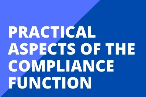 Practical Aspects of the Compliance Function (PACF1709H120)