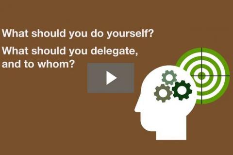 Preparing to Delegate (D&E 2-1)