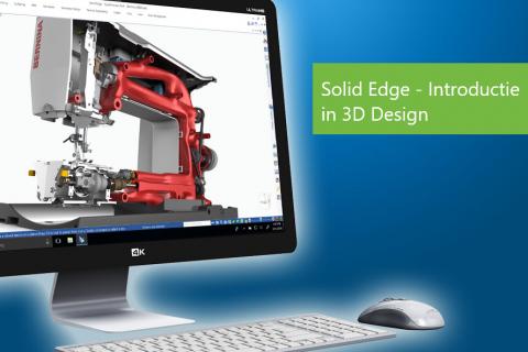Solid Edge - Introductie in 3D Design