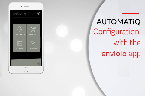 AUTOMATiQ configuration with the enviolo app (E-A05)