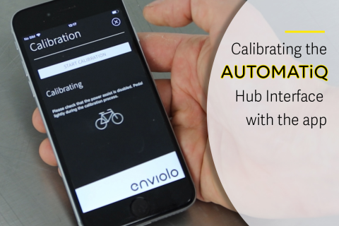 Calibrating AUTOMATiQ with the enviolo App (E-A07)