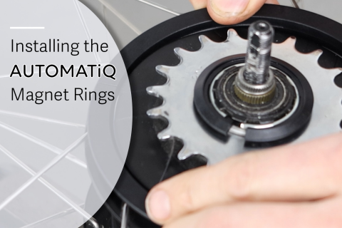 Installing the AUTOMATiQ magnet rings (E-A01)
