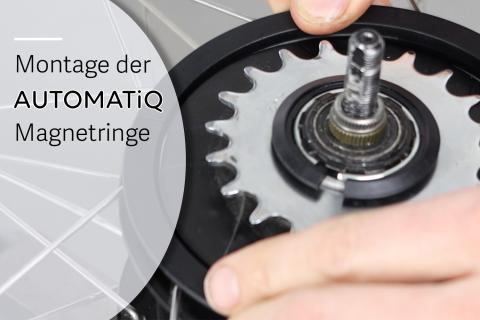 Montage der AUTOMATiQ Magnetringe (G-A01)