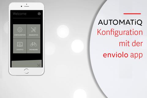 Konfiguration des enviolo AUTOMATiQ Systems mit der App (G-A05)