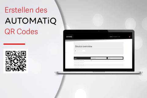 Erstellen eines AUTOMATiQ QR Codes (G-A06)
