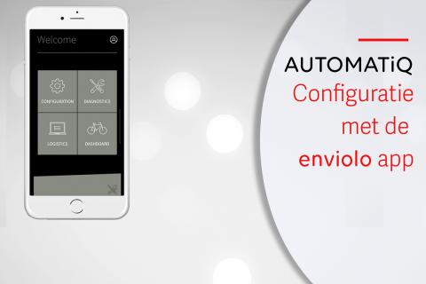 enviolo AUTOMATiQ instellingen aanpassen met de app (N-A05)
