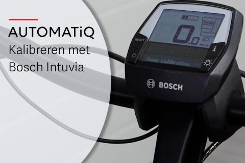 Kalibratie van de AUTOMATiQ naaf interface met een Intuvia display (N-A08)