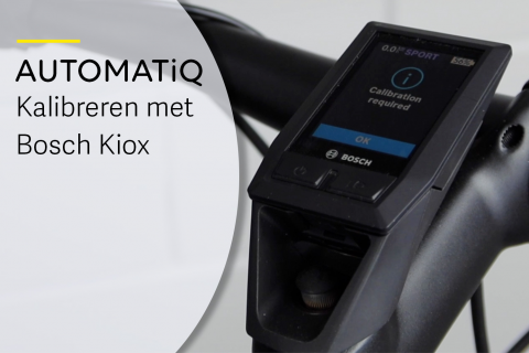 Kalibratie van AUTOMATiQ naaf interface met een Kiox display (N-A09)