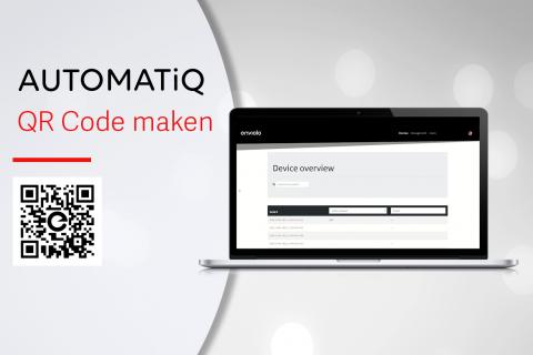 Creëren van de AUTOMATiQ QR code (N-A06)