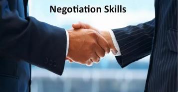 Negotiations Skills