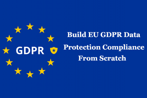 Build EU GDPR Data Protection Compliance from scratch (CIPT) (GDPR1)
