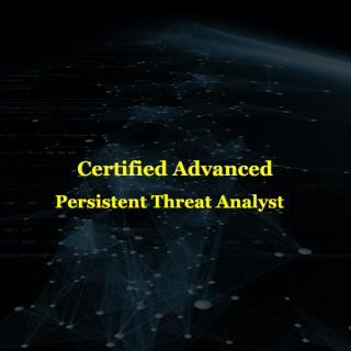 Certified Advanced Persistent Threat Analyst