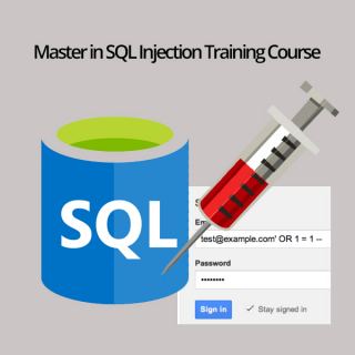 Master in SQL Injection - Penetration Testing