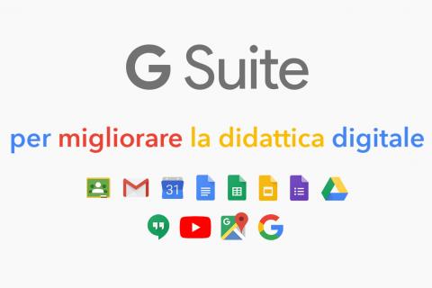 G Suite per migliorare la didattica digitale