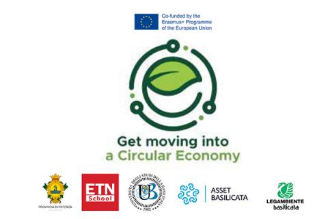 Follow-up Erasmus+ Get moving into a circular economy (CE01)