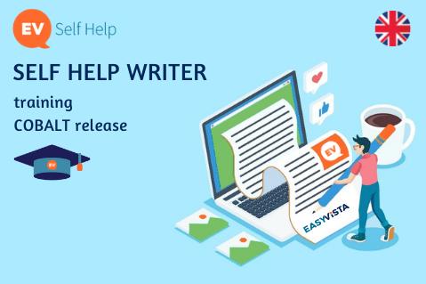 Self Help Writer [COBALT] (CUST-T-SHW-Cob-EN)